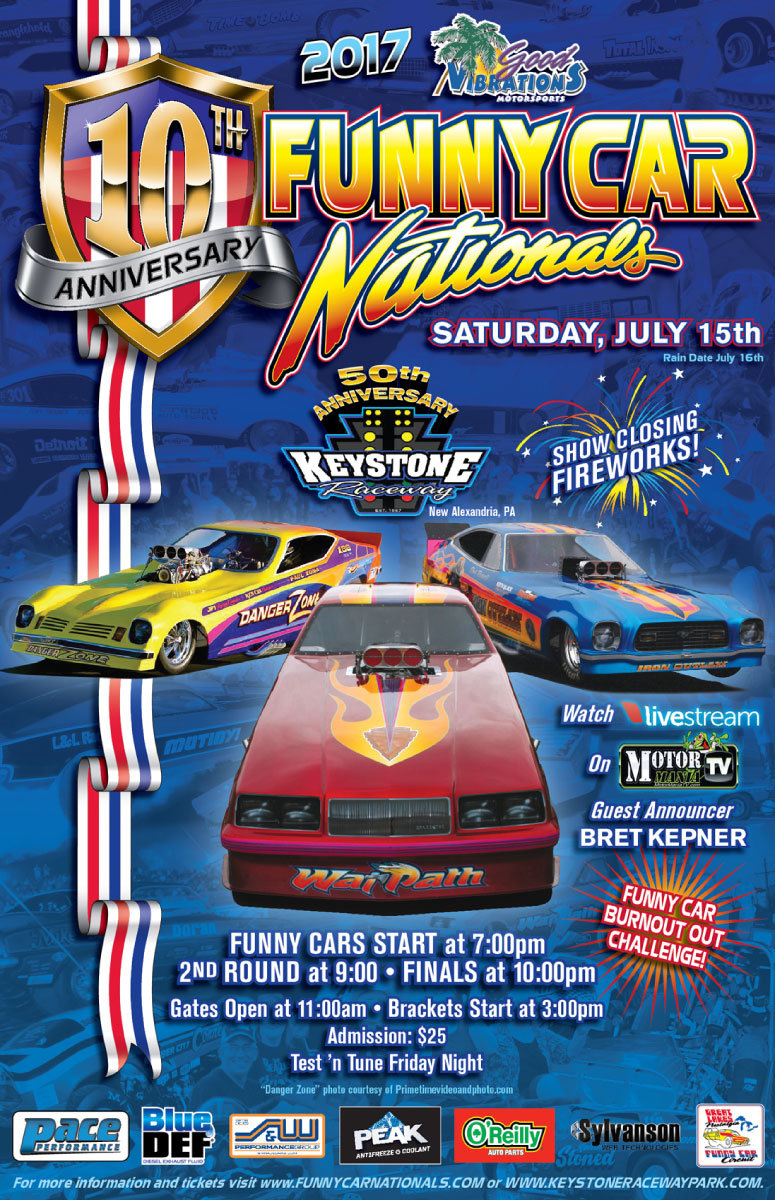 10th Annual Good Vibrations Motorsports Funny Car Nationals